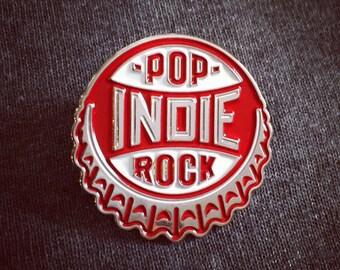Pop Rock Lapel Pin