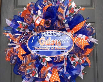 Florida Gators Wreath University of Florida Gators Wreath