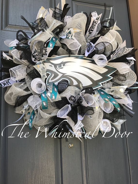 Philadelphia Eagles Wreath Eagles NFL Wreath Football Wreath  85b1f4889d1