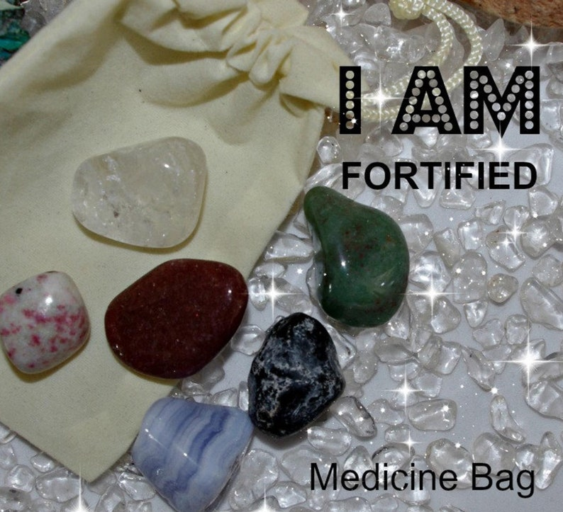 Fortified Crystal Medicine Bag I AM Fortified / Boost Immune image 0