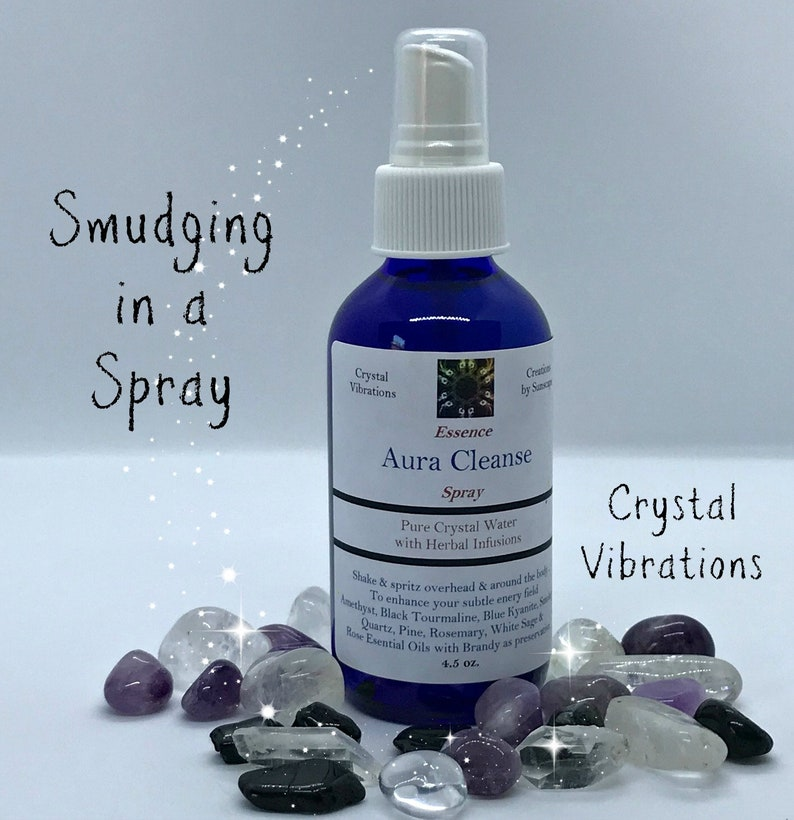 AURA CLEANSING SPRAY Essence Spray Negativity Clearing image 0