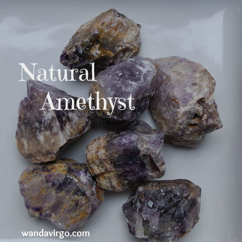 Natural AMETHYST Crystals for Purifying and Renewing the Body image 0