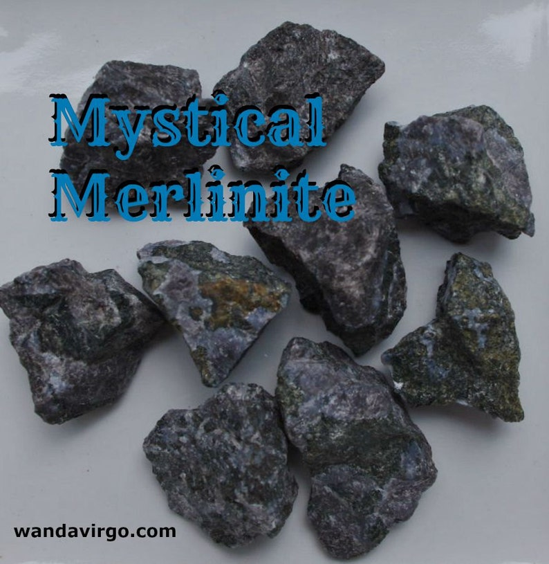 Mystic Merlinite Stones for Magical Experiences Journey image 0