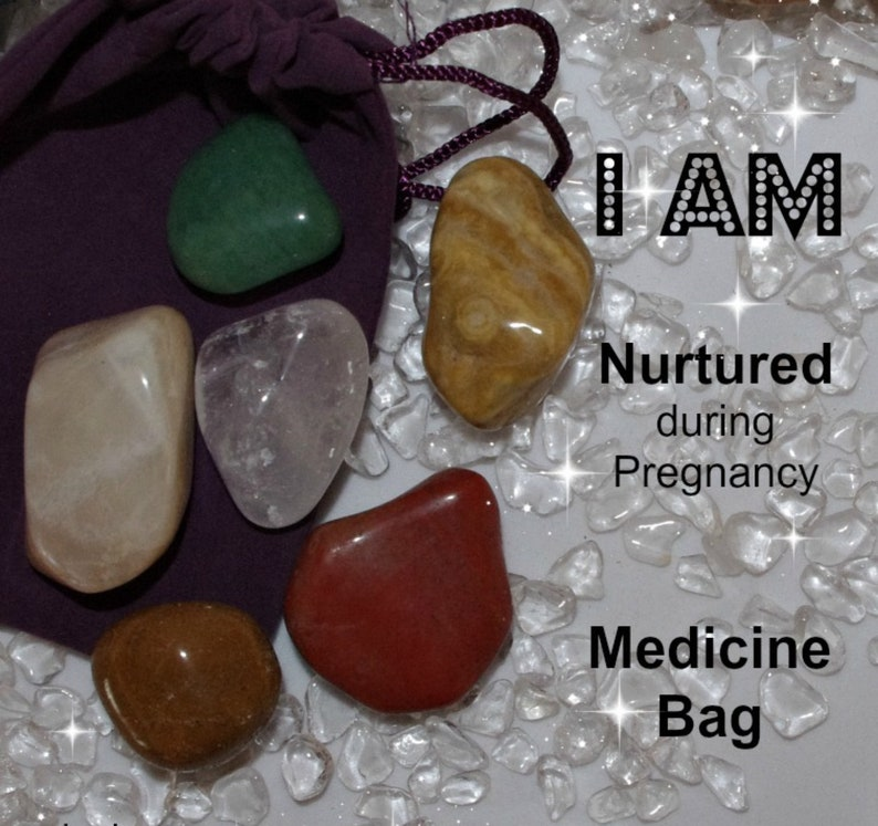 Nurtured Crystal Medicine Bag I AM Nurtured  / Pregnancy  / image 0