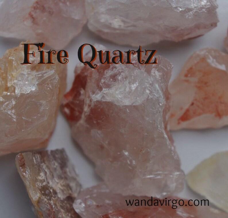 FIRE QUARTZ for Concentration & Boosting your Self-Esteem image 0