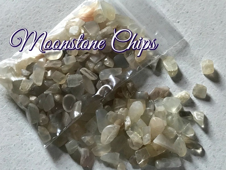 MOONSTONE CHIPS for spreading the Goddess Energy and Grid Work image 0