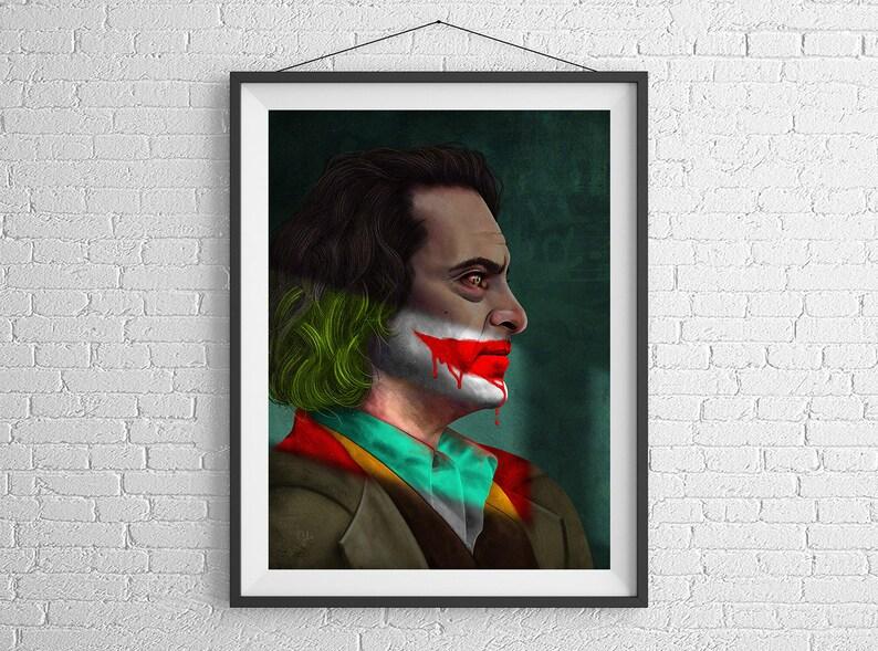 Joker  Giclée Poster Art Print by Gülce Baycık  unframed  image 0