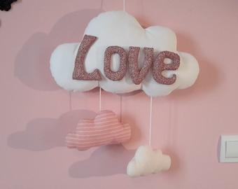 Mobile infantile cloud Love.