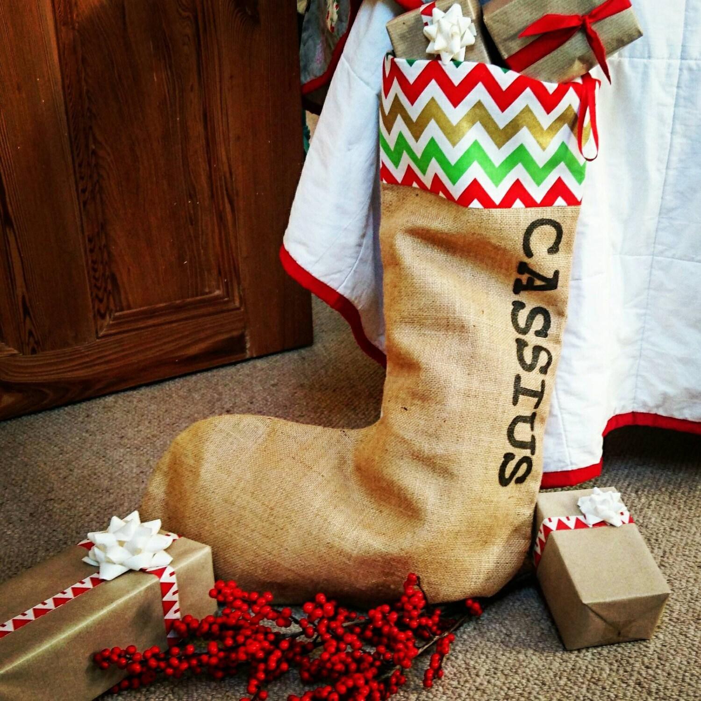 Bunten Weihnachts-Strumpf Geschenke für Kinder Weihnachten   Etsy