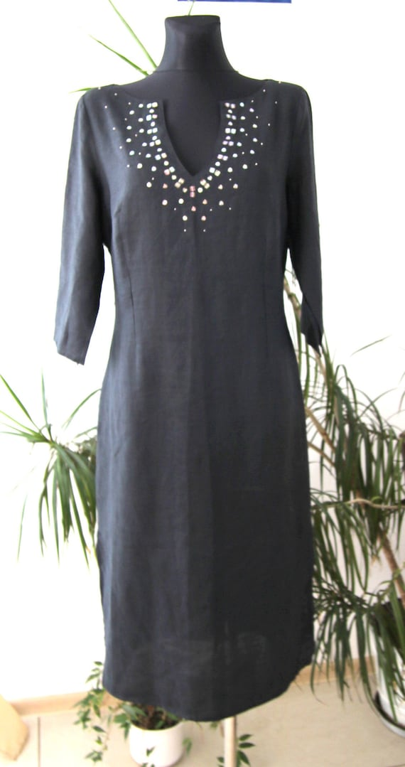 summer,  dresses, Ramia, black, size 40