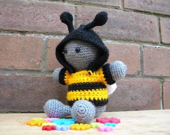 Inchoate Bumble Bee Hoodie