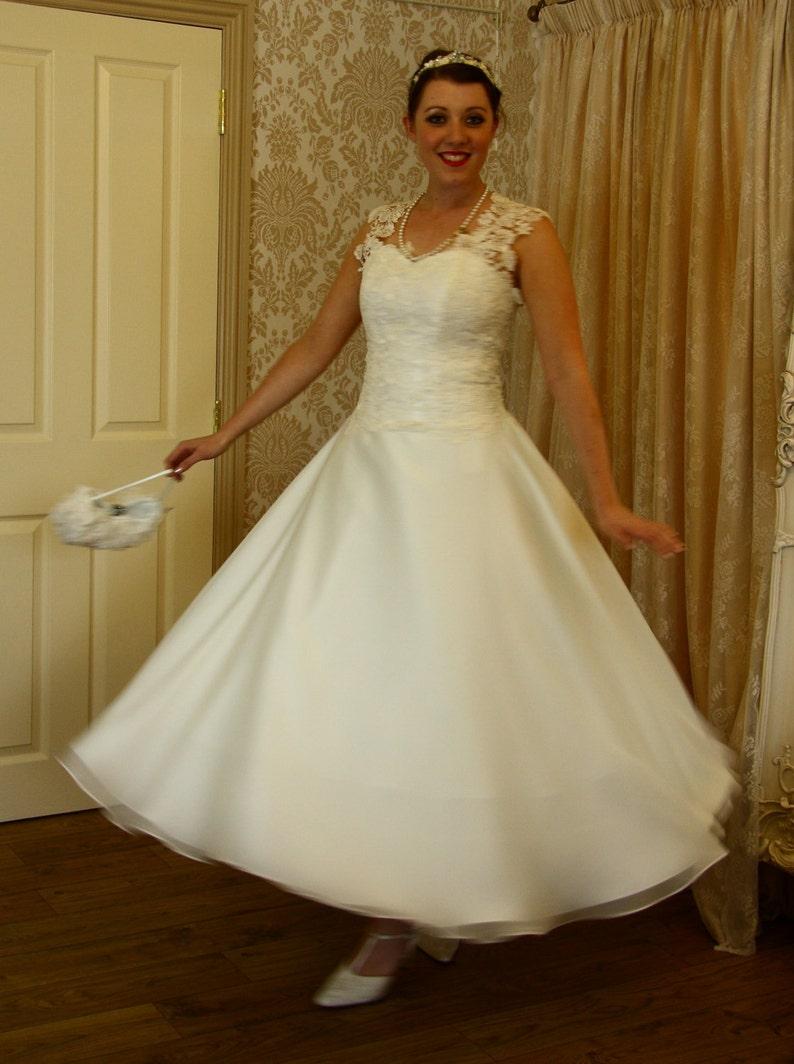 Fifties Style Wedding Dresses