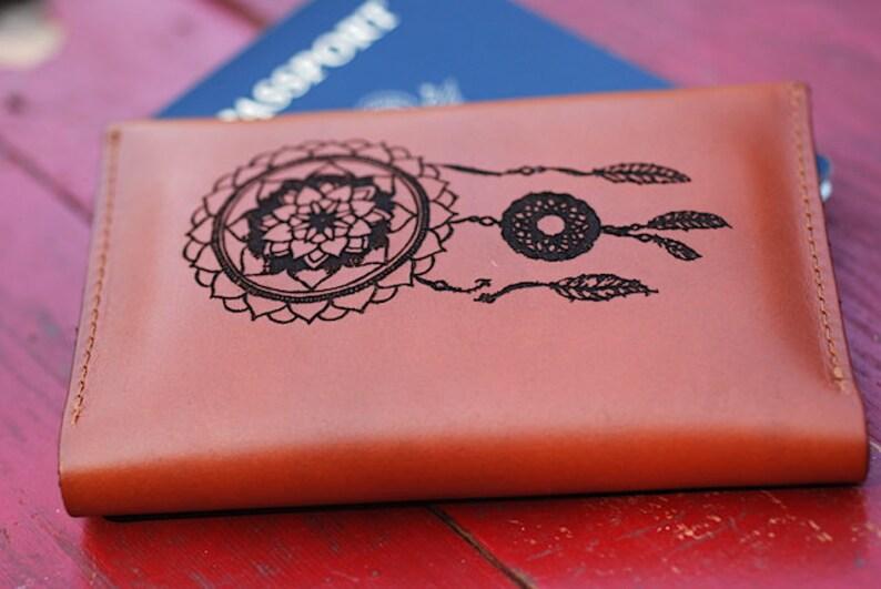 3e251d56b Dream Catcher Passport Holder Passport Keeper Passport