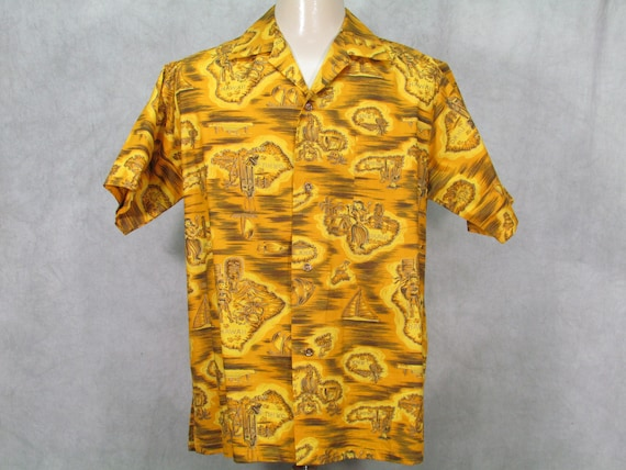1950s Hawaiian Lurline Curise  Hawaiian Vintage 60