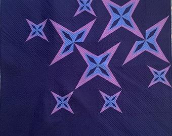 Starlight Spectacular Quilt Pattern | Paper Pieced Quilt Pattern