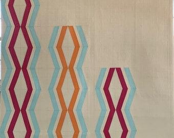 Double Helix Quilt Pattern