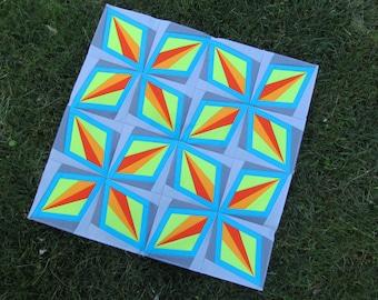 Dazzling Diamond Quilt Pattern