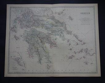 haute- Saone Haute-saÔne 1878 Old Antique Vintage Map Plan Chart