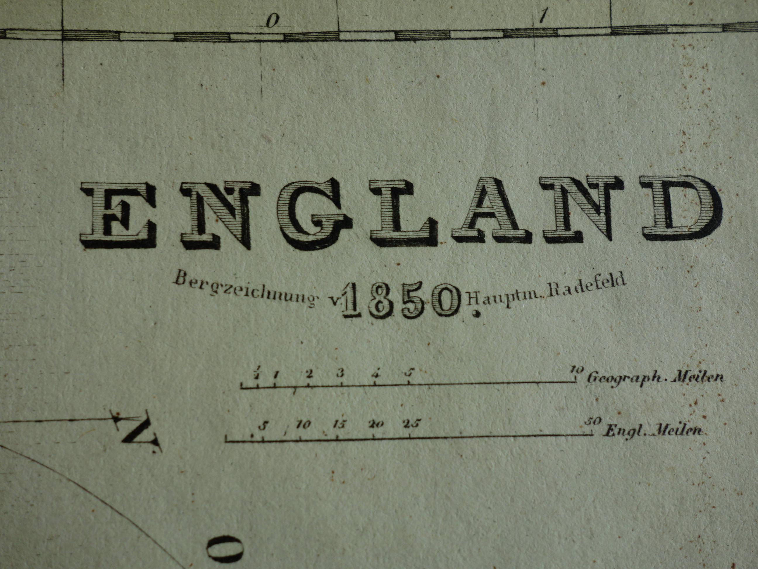 Map Of England 850.England Old Map Of England 1850 Original Hand Colored Antique Print Of Britain Wales London Cornwall Devon Kent Vintage Maps 24x29c 9x11