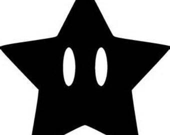 Mario Star Etsy