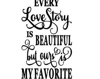 Love Story Quote Etsy