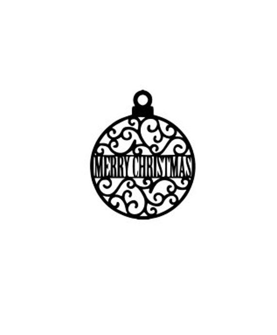 Merry Christmas Ornament Svg.Merry Christmas Ornament Svg Happy Holidays Svg Svg Digital Download For Circut Cameo Etc