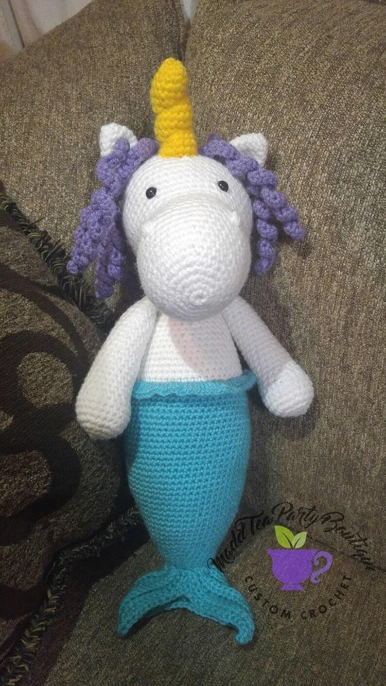 Unicorn Mermaid / Mermaid Amigurumi Family Part 2 - YouTube | 1412x794