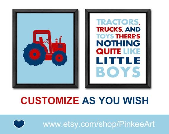 tractor nursery truck nursery baby boy gift boys room etsy