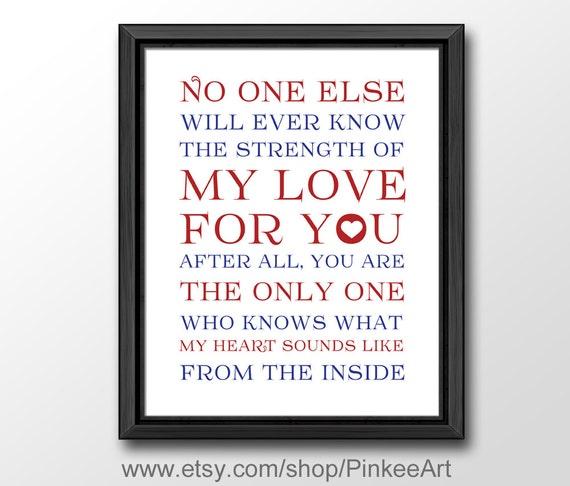 Siła Mojej Miłości Wydrukować Przedszkole Cytaty Dziecka Etsy