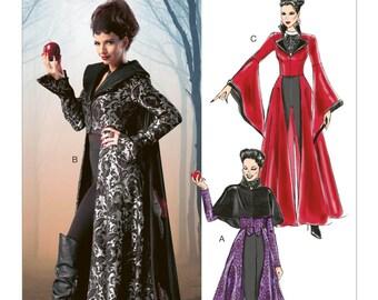 6818 mccalls meleficent sleeping beauty disney villian once upon a time evil queen wicked queen cosplay dress up halloween costume