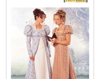 OOP, 6630 Butterick, Edwardian, Petticoat, Making History, Regency, Empire waist, coat and dress, Renaissance Maiden, Reenactment, Titanic,
