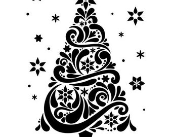 Darice® Embossing Folder - Geo Christmas Tree - 4.25 x 5.75, scrapbooking, card making, greeting cards, invitations and more