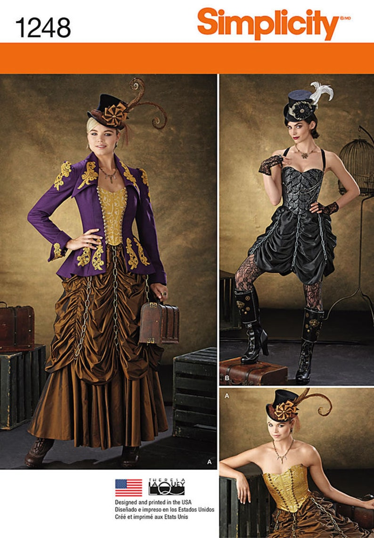 1248 semplicità Steampunk costumi dei mancati riscontri  445d41cc846