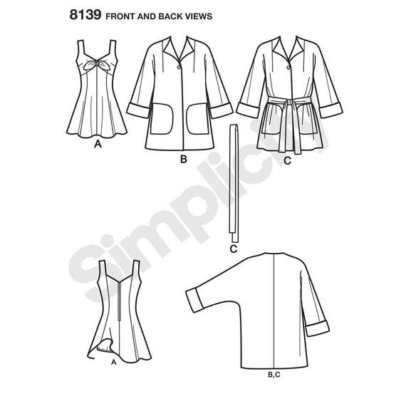 8139 simplicity 1950 s beach wear bathing dress beach etsy 1950 Style Signs 50