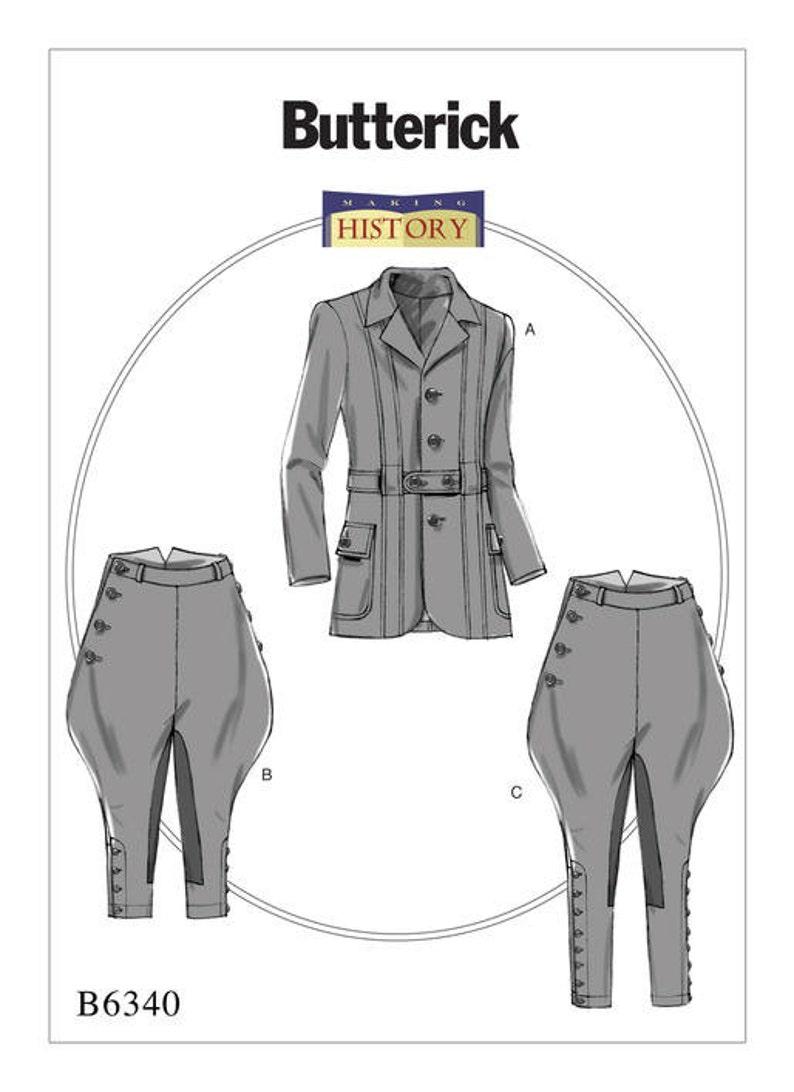 Butterick Damas patrón de costura 6337 Estilo Vintage muesca collar chaquetas y..