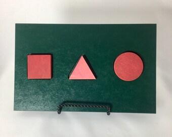 Stanford-Binet Testing Form Board by Houghton Mifflin