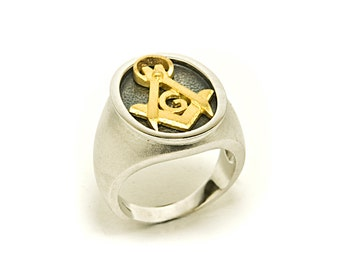 silver ring freemasonry
