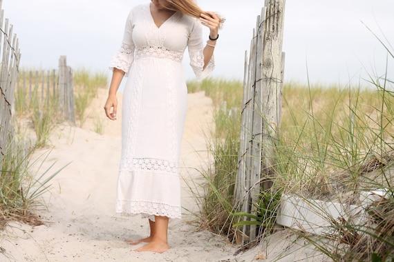 White Lace Vintage Dress vintage clothing, vintage