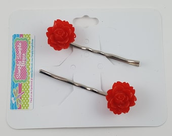Rose Hair Pins