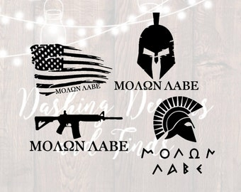 DIGITAL DOWNLOAD svg png jeep wrangler hood decal molon labe decal military svg jeep svg car decal die cuts patriotic svg