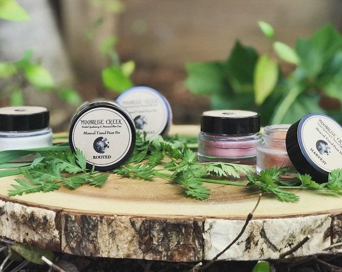 Mineral Tinted Paint Pots • Nourishing Universal Lip + Cheek + Eye + Body Tints • Cruelty Free