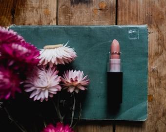 Botanical Vegan Lipstick • Matte and Lavish Shades • Organic + Gluten Free + GMO Free • 14 shades