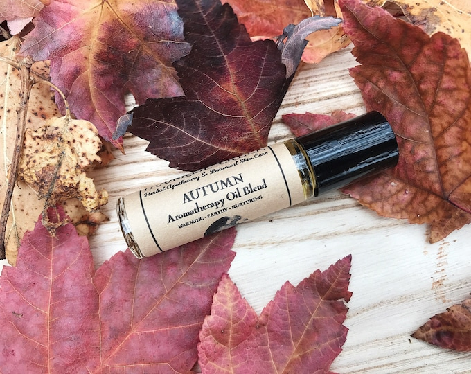 Autumn • Aromatherapy Oil Blend • Warming + Earthy + Nurturing • Roll On Application