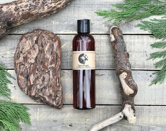 Shampoo • Organic • Cedarwood + Lemon Verbena • Nourishing Botanical Hair Cleanser