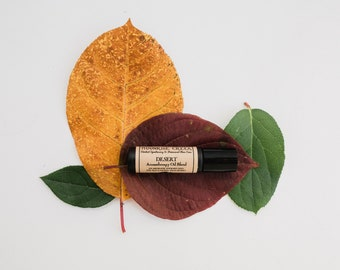 DESERT • Aromatherapy Roll On Blend • Take an aromatic journey through the desert • Vegan