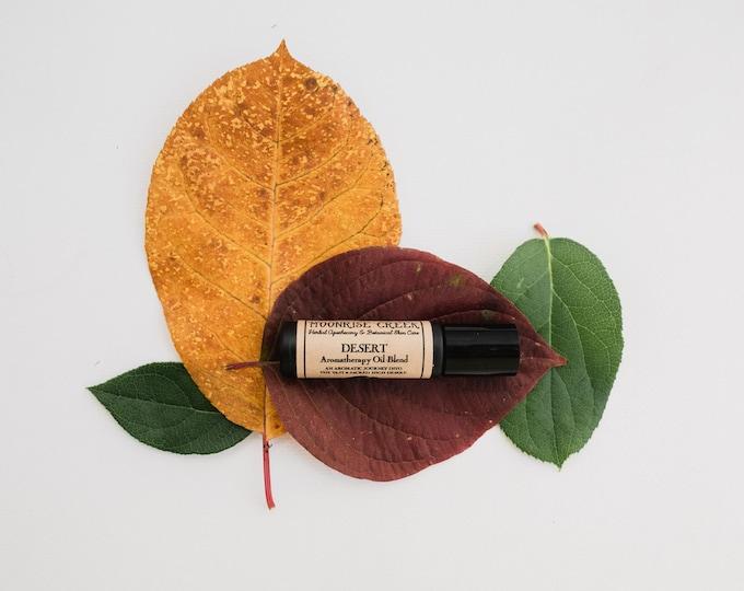 DESERT • Aromatherapy Roll On Blend • Take an aromatic journey through the desert • Vegan
