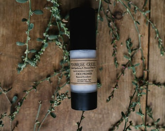 Face Primer • Botanical Formulation • Antioxidant Rich + Vegan + Non GMO + Gluten Free • Earth Mineral Cosmetics