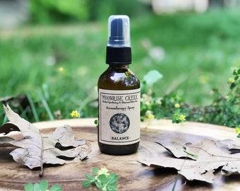BALANCE Aromatherapy Spray Perfume • Grounding + Harmonizing + Nurturing + Calming