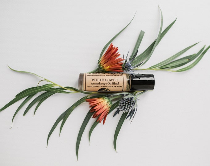 WILDFLOWER • Aromatherapy Roll On Blend • Burst Into Bloom & Nurture Your Senses • Floral + Soothing + Fresh + Clean