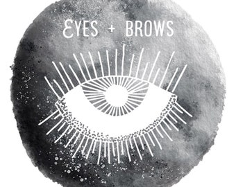 Eyes & Brows Set • Choose your own shades • For all skin types • Six items
